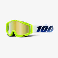 100% Racecraft Gp21 Mirror Gold Lens