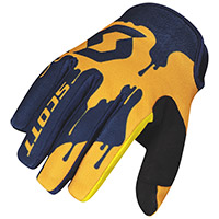 Guantes SCOTT 250 Swap azul amarillo