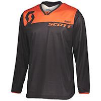 Maglia Scott 350 Dirt Nero Arancio