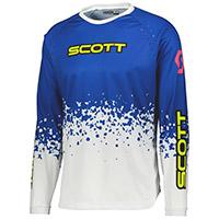 Maglia Scott 350 Race Evo Blu Bianco