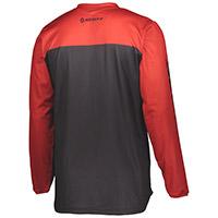 Maglia Scott 350 Track Nero Rosso