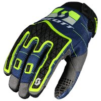 Guanti Scott Enduro Blu Giallo
