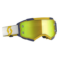 Scott Fury Goggle Yellow Blue Yellow Chrome