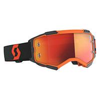Scott Fury Goggle Orange Black Orange Chrome