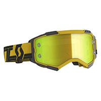 Scott Fury Goggle Gold Black Yellow Chrome