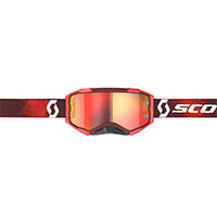Scott Fury Goggle Red Orange Chrome