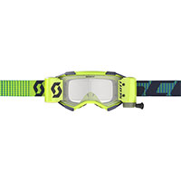 Scott Fury Wfs Goggle Blue Yellow Lens Clear