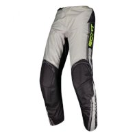 Scott 350 Race Kids Pant Grey Yellow Kid