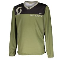 Scott 350 Dirt Kids Jersey Green Kid