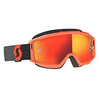 Scott Primal Goggle Orange Lens Chrome Orange