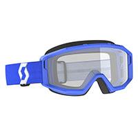 Scott Primal Goggle Blue Lens Clear