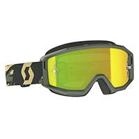 Scott Primal Goggle Camo Kaki Lens Chrome Yellow
