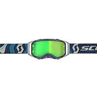 Scott Prospect Goggle Blue Green Lens Chrome Green