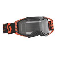 Scott Prospect Enduro Goggle Orange Lens Clear