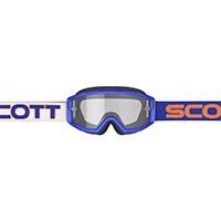 Maschera Scott Split Otg Bianco Blu