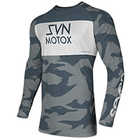 Camiseta Seven Vox Pursuit gris steel