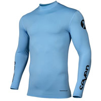 Seven Zero Compression Jersey Blue