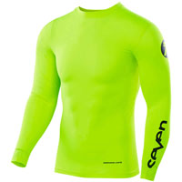 Seven Zero Compression Jersey Yellow