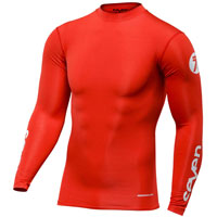 Seven Zero Compression Jersey Red