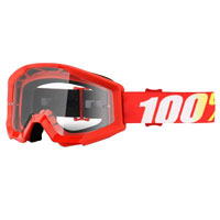 100% Strata Furnace Googles Red