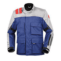 T.ur J-three Enduro Jacket Blue Red