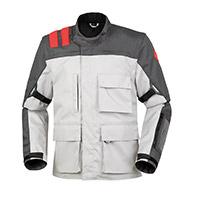 T.ur J-three Enduro Jacket Grey Red