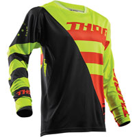 Thor Fuse Air Rive Lime/orange Jersey 2018