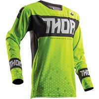 Thor Fuse Bion Lime Jersey 2018