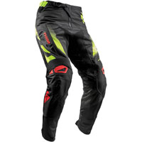 Thor Fuse Rampant Black/red/lime Pant 2018
