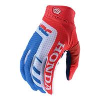 Troy Lee Designs Air Honda Gloves Red Blue