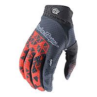 Troy Lee Designs Air Wedge Gloves Orange Grey