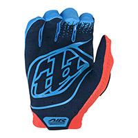 Troy Lee Designs Air Ktm Gloves Orange Blue