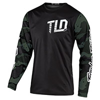 Troy Lee Designs Gp Camo Jersey Green Black