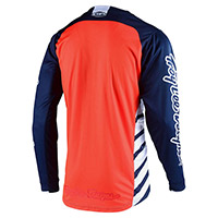 Troy Lee Designs Gp Drift Jersey Navy Orange