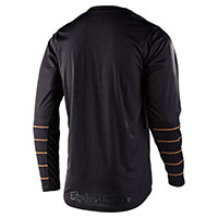 Troy Lee Designs Gp Pinstripe Jersey Black Gold