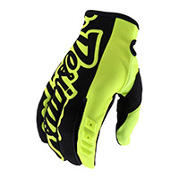 Troy Lee Designs Gp Youth Gloves Yellow Kinder