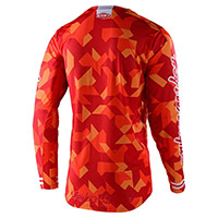 Maillot Enfant Troy Lee Designs Gp Confetti Orange