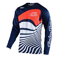 Maglia Bimbo Troy Lee Designs Gp Drift Navy Bimbo