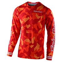 Troy Lee Designs Gp Air Confetti Jersey Orange