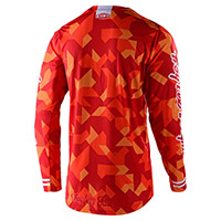 Troy Lee Designs Gp Air Confetti Team Jersey Orange