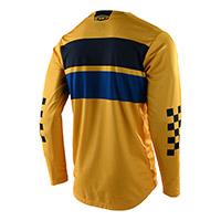 Maglia Troy Lee Designs Gp Racing Stripe Giallo