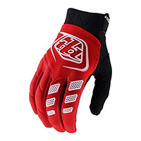 Troy Lee Design Revox Solid Gloves Red