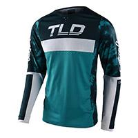 Maglia Troy Lee Designs Se Pro Dyeno Blu
