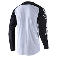 Maillot Troy Lee Designs Se Pro Solo Blanc