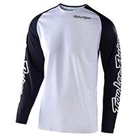 Camiseta Troy Lee Designs Se Pro Solo blanco
