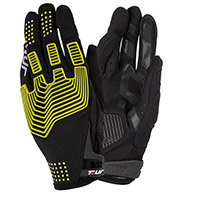 Guanti T.ur G-three Nero Giallo