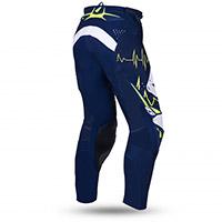 Pantaloni Ufo Adrenaline Slim Blu Giallo Fluo