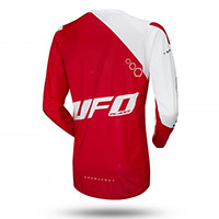 Maillot Ufo Frequency Slim Rouge Blanc