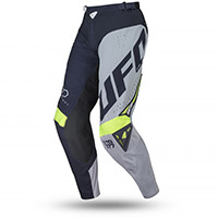Pantaloni Ufo Frequency Slim Blu Giallo