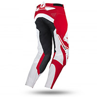 Pantaloni Ufo Frequency Slim Rosso Bianco